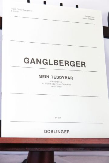 Ganglberger J W - Mein Teddybar Concert Polka for Bassoon (or Tenor Saxophone) & Piano